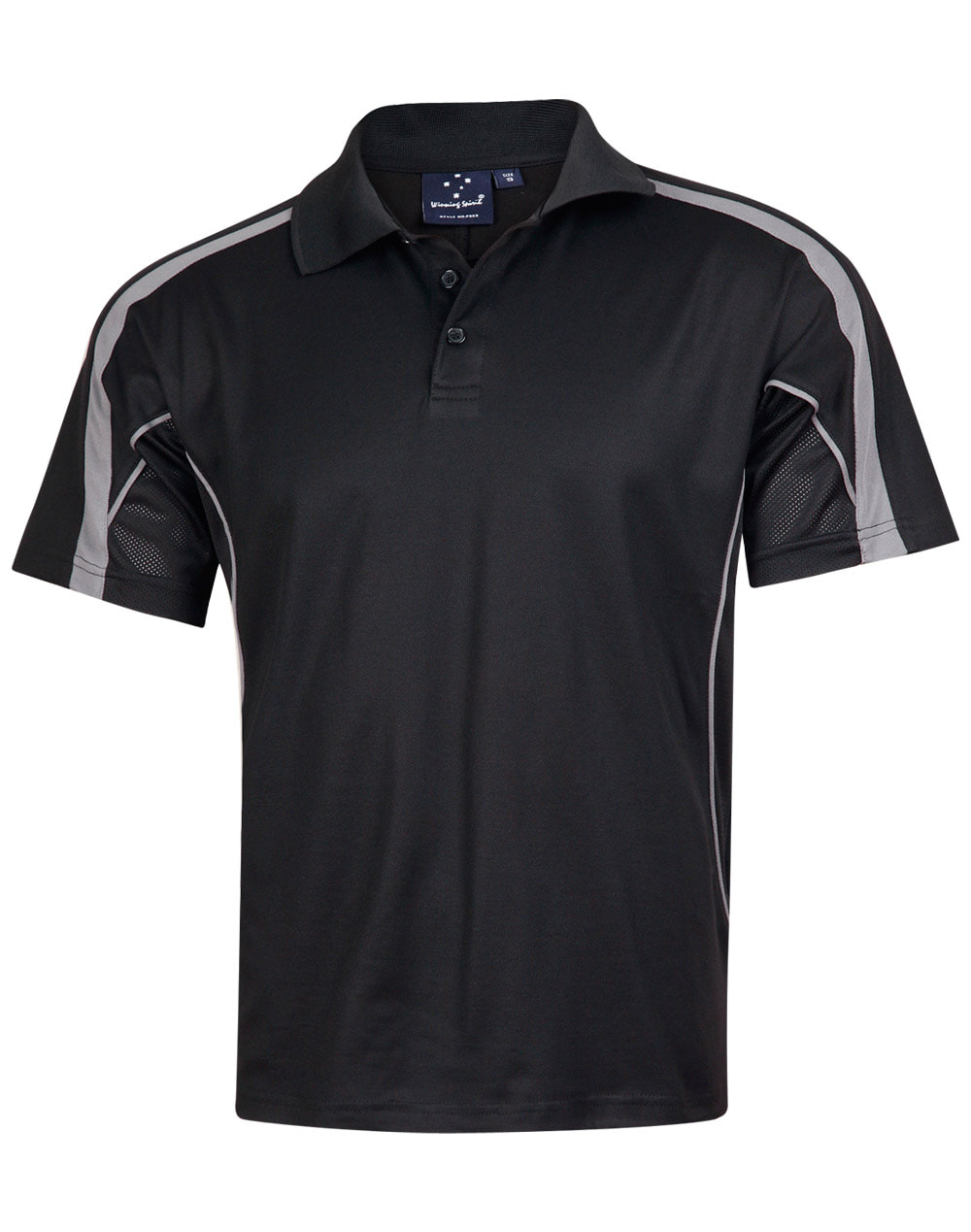 Yarra Polo Black/Gold